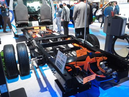 Winnebago launches all-electric, zero emission vehicle platform